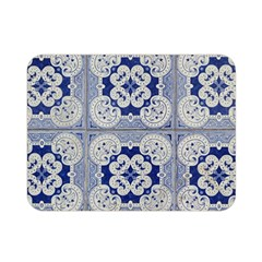 Ceramic Portugal Tiles Wall Double Sided Flano Blanket (mini)