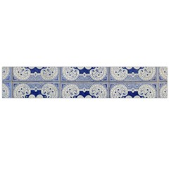 Ceramic Portugal Tiles Wall Flano Scarf (large)