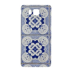 Ceramic Portugal Tiles Wall Samsung Galaxy Alpha Hardshell Back Case