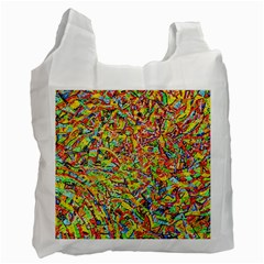 Canvas Acrylic Design Color Recycle Bag (two Side)