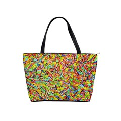 Canvas Acrylic Design Color Shoulder Handbags