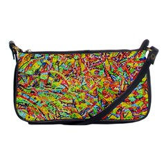Canvas Acrylic Design Color Shoulder Clutch Bags