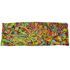 Canvas Acrylic Design Color Body Pillow Case Dakimakura (two Sides)