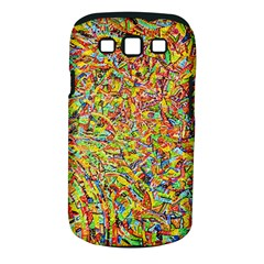 Canvas Acrylic Design Color Samsung Galaxy S Iii Classic Hardshell Case (pc+silicone)