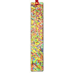 Canvas Acrylic Design Color Large Book Marks