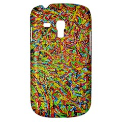 Canvas Acrylic Design Color Galaxy S3 Mini