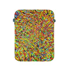 Canvas Acrylic Design Color Apple Ipad 2/3/4 Protective Soft Cases