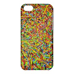 Canvas Acrylic Design Color Apple iPhone 5C Hardshell Case