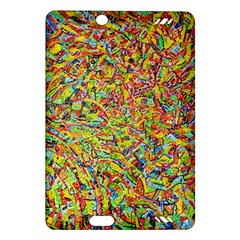 Canvas Acrylic Design Color Amazon Kindle Fire Hd (2013) Hardshell Case