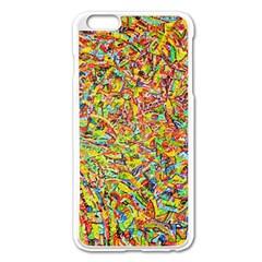 Canvas Acrylic Design Color Apple Iphone 6 Plus/6s Plus Enamel White Case