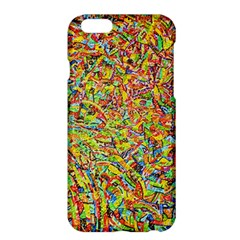 Canvas Acrylic Design Color Apple Iphone 6 Plus/6s Plus Hardshell Case