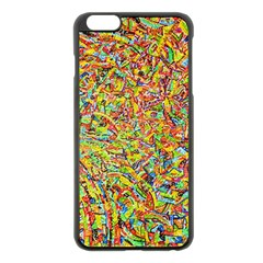 Canvas Acrylic Design Color Apple Iphone 6 Plus/6s Plus Black Enamel Case