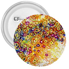 Canvas Acrylic Design Color 3  Buttons