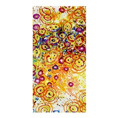 Canvas Acrylic Design Color Shower Curtain 36  X 72  (stall)