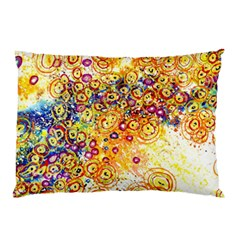 Canvas Acrylic Design Color Pillow Case (two Sides)