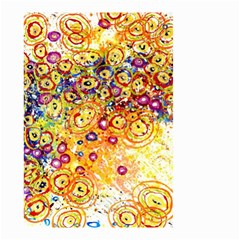 Canvas Acrylic Design Color Small Garden Flag (two Sides)
