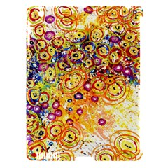 Canvas Acrylic Design Color Apple Ipad 3/4 Hardshell Case (compatible With Smart Cover)