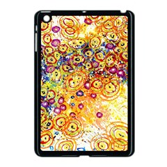Canvas Acrylic Design Color Apple Ipad Mini Case (black)