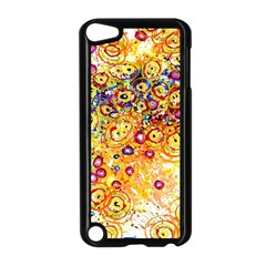 Canvas Acrylic Design Color Apple Ipod Touch 5 Case (black)