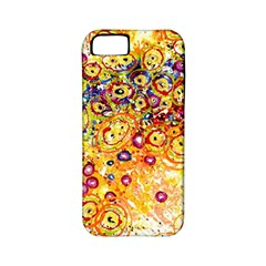 Canvas Acrylic Design Color Apple Iphone 5 Classic Hardshell Case (pc+silicone)