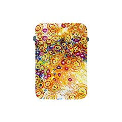 Canvas Acrylic Design Color Apple Ipad Mini Protective Soft Cases