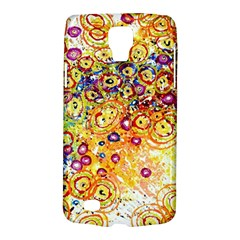 Canvas Acrylic Design Color Galaxy S4 Active