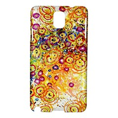 Canvas Acrylic Design Color Samsung Galaxy Note 3 N9005 Hardshell Case