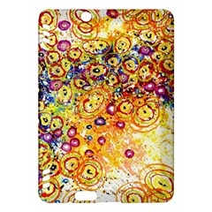 Canvas Acrylic Design Color Kindle Fire Hdx Hardshell Case