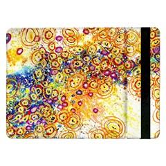 Canvas Acrylic Design Color Samsung Galaxy Tab Pro 12.2  Flip Case