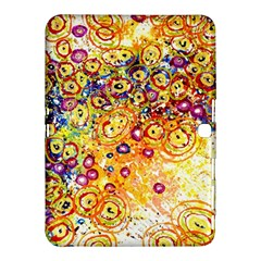 Canvas Acrylic Design Color Samsung Galaxy Tab 4 (10 1 ) Hardshell Case