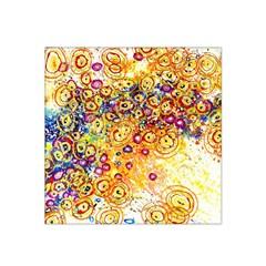 Canvas Acrylic Design Color Satin Bandana Scarf