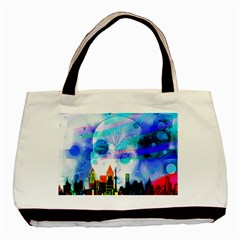 Dirty Dirt Spot Man Doll View Basic Tote Bag