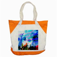 Dirty Dirt Spot Man Doll View Accent Tote Bag
