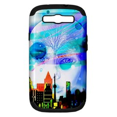 Dirty Dirt Spot Man Doll View Samsung Galaxy S Iii Hardshell Case (pc+silicone)