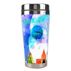 Dirty Dirt Spot Man Doll View Stainless Steel Travel Tumblers