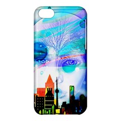 Dirty Dirt Spot Man Doll View Apple Iphone 5c Hardshell Case