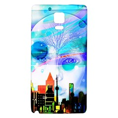 Dirty Dirt Spot Man Doll View Galaxy Note 4 Back Case