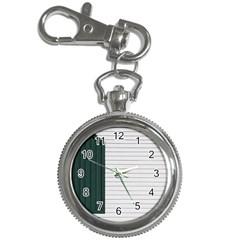 Construction Design Door Exterior Key Chain Watches