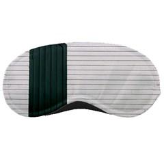 Construction Design Door Exterior Sleeping Masks