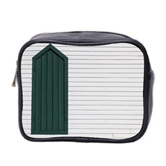 Construction Design Door Exterior Mini Toiletries Bag 2 Side