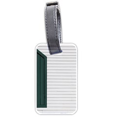 Construction Design Door Exterior Luggage Tags (one Side)