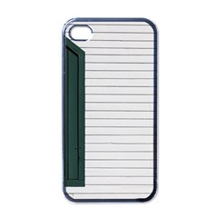 Construction Design Door Exterior Apple Iphone 4 Case (black)