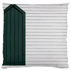 Construction Design Door Exterior Large Cushion Case (two Sides)