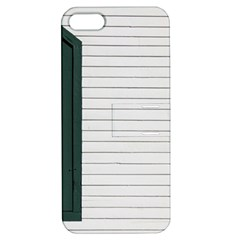 Construction Design Door Exterior Apple Iphone 5 Hardshell Case With Stand