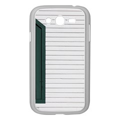 Construction Design Door Exterior Samsung Galaxy Grand Duos I9082 Case (white)