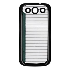 Construction Design Door Exterior Samsung Galaxy S3 Back Case (black)