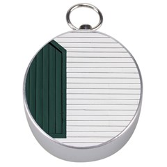 Construction Design Door Exterior Silver Compasses