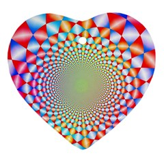 Color Abstract Background Textures Ornament (Heart)