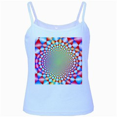 Color Abstract Background Textures Baby Blue Spaghetti Tank