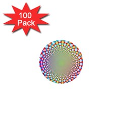 Color Abstract Background Textures 1  Mini Buttons (100 pack)